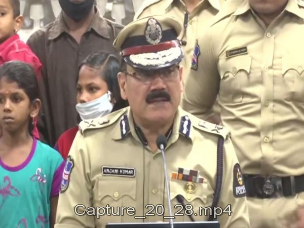 Hyderabad City Police Commissioner Anjani Kumar