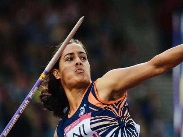 Javelin thrower Annu Rani (Photo/ SAI Media Twitter)
