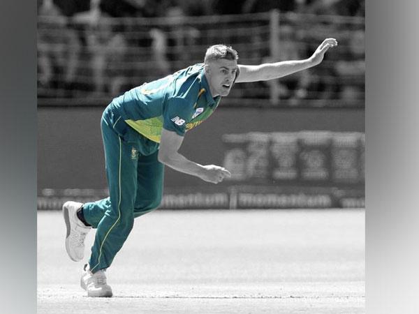 KKR fast bowler Anrich Nortje