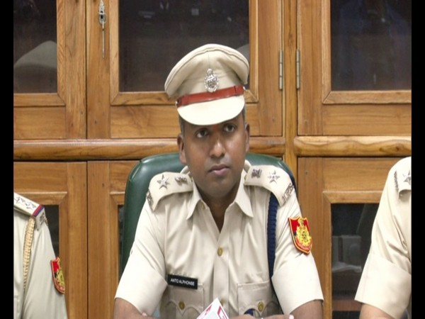 DCP, Dwarka district, Anto Alphonse