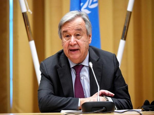 UN Secretary General Antonio Guterres