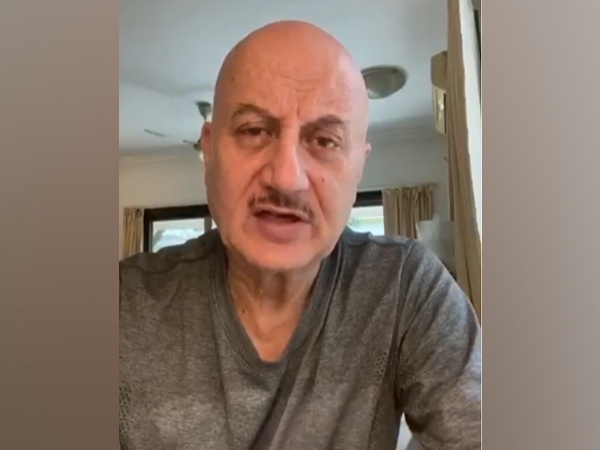 A still from the video shared by actor Anupam Kher (Image courtesy: Instagram)