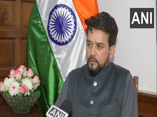 Union Minister of State for Finance and Corporate Affairs Anurag Thakur (File photo)