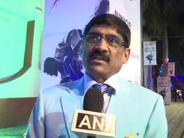 Judo Association CEO Munawar Anzar speaking to ANI in Lucknow on Monday. Photo/ANI