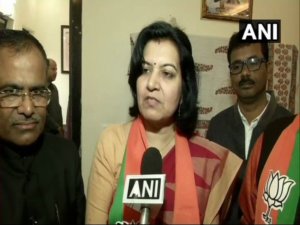 BJP MP Aparajita Sarangi (file photo)