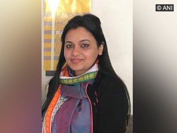 File photo of Rohit Shekhar Tiwari's wife Apoorva Shukla (Photo/ANI)