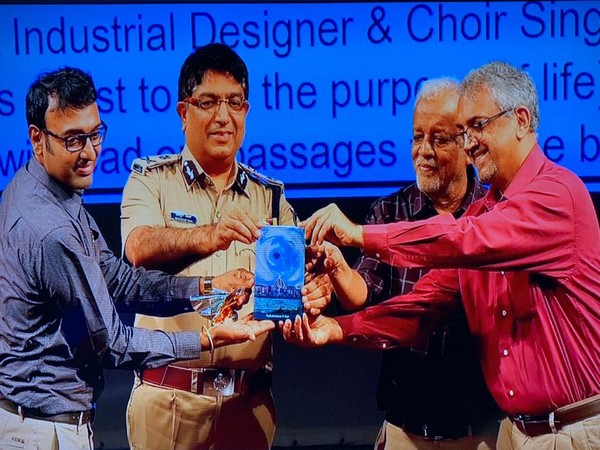 The book being released by Commissioner of Police Bhaskar Rao, along with Vasudev Murthy, Technology Management Consultant, leadership trainer and author, and Ramessh RK, an industrial designer