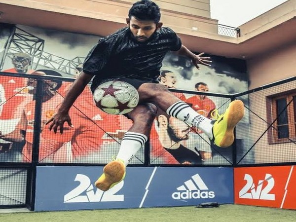 India's freestyle footballer Archis Patel