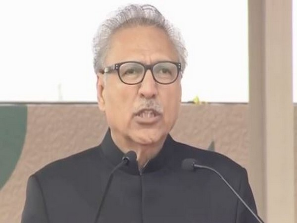 Pakistan President Arif Alvi (File photo)