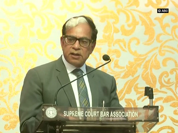 Justice Sikri during his farewell address on Wednesday(Photo/ANI)