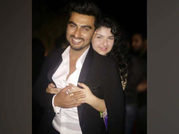 Actor Arjun Kapoor with sister Anshula Kapoor (Image source: Instagram)