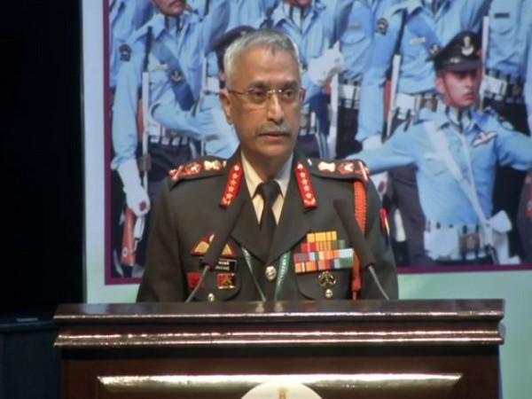 Army Chief General MM Naravane. Photo/ANI