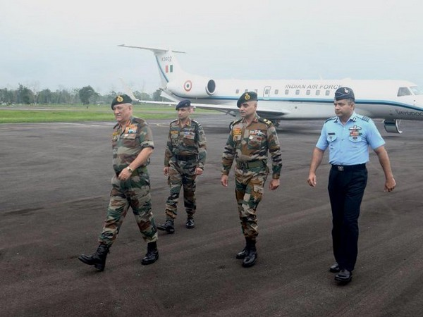 Army Chief General Bipin Rawat during a recent visit to Eastern Command (Photo by Eastern Command)