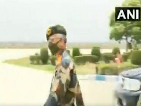 Army Chief General Manoj Mukund Naravane departing for Leh on Tuesday.