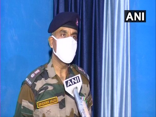 Defence spokesperson Lt Col Devender Anand speaking to ANI on Saturday. Photo/ANI