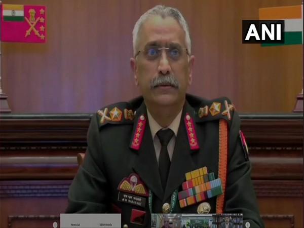 Chief of Army Staff (COAS), General MM Naravane (Photo/ANI)