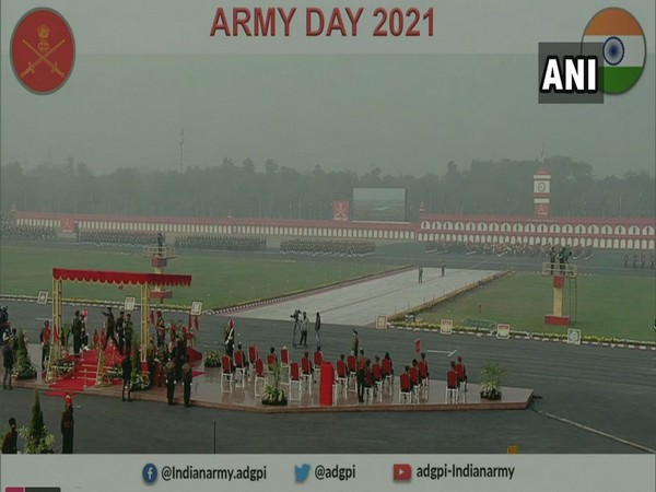 Visuals of Army Day Parade (Photo/ANI)