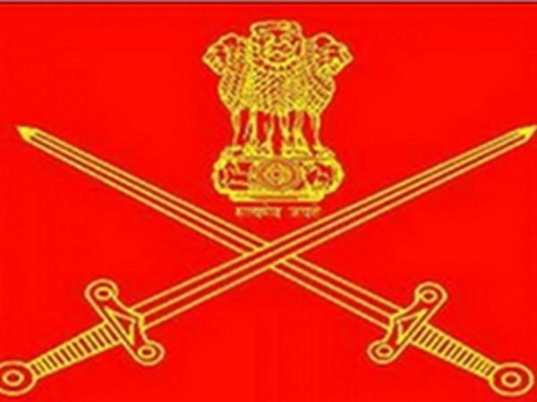 Indian Army emblem.