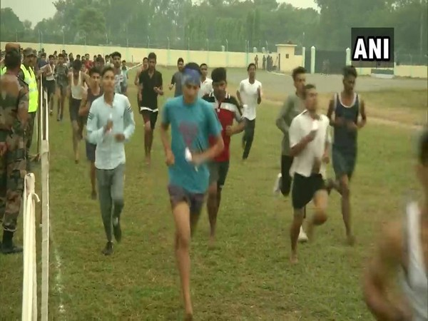 Nearly 44,000 youth participated in the recruitment rally organised at Sher Bachcha Stadium, Samba in Jammu and Kashmir on Monday.