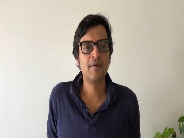 Republic TV editor-in-chief Arnab Goswami. Photo/ANI