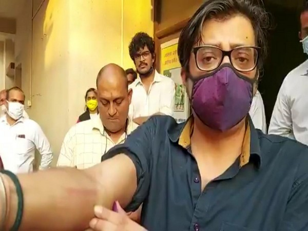 Republic TV editor Arnab Goswami (file photo)
