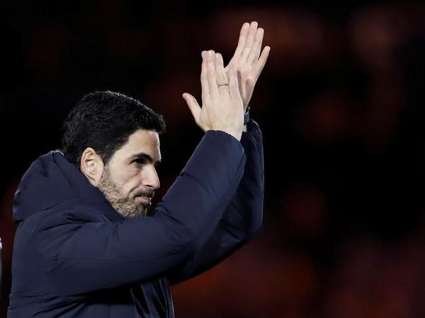 Arsenal manager Mikel Arteta. (file image)