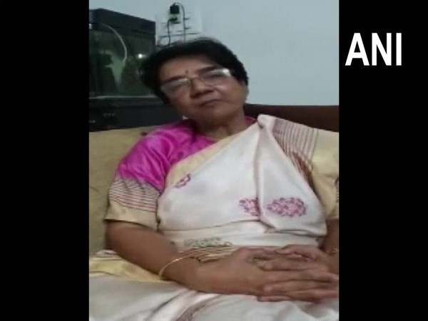 Dr. Arati Dave Lalchandani, Principal and Dean of the GSVM Medical College talking to reporters on Friday. Photo/ANI