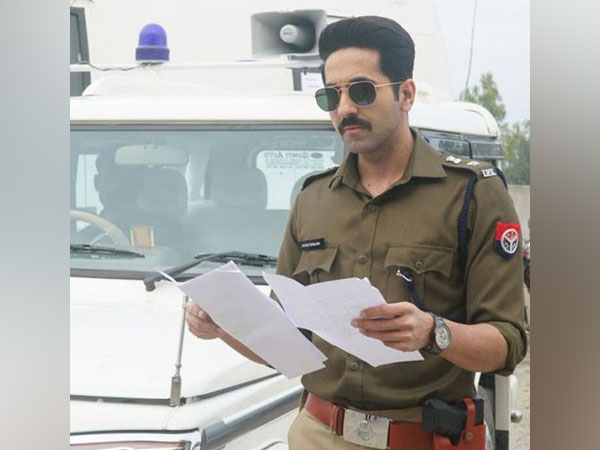 First look of Ayushmann Khurrana in 'Article 15', Image courtesy: Instagram
