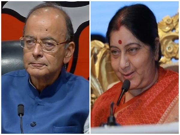 Arun Jaitley and Sushma Swaraj (File Photos)