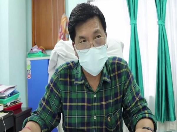Itanagar's district medical officer (DMO) Dr Mandip Perme (Photo/ANI)