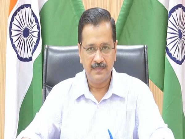 Chief Minister Arvind Kejriwal speaking at a press conference on Friday. Photo/ANI