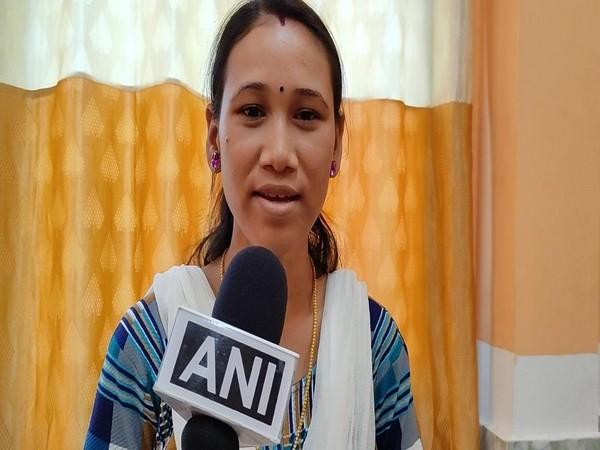 Munmi Gogoi speaking to ANI in Kannur on Sunday. [Photo/ANI]