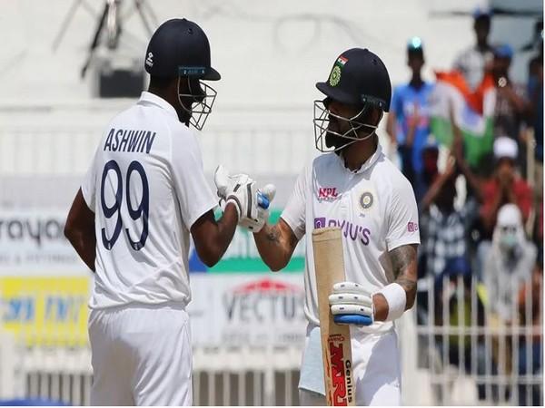 Ravichandran Ashwin along with Virat Kohli (Photo/ BCCI)