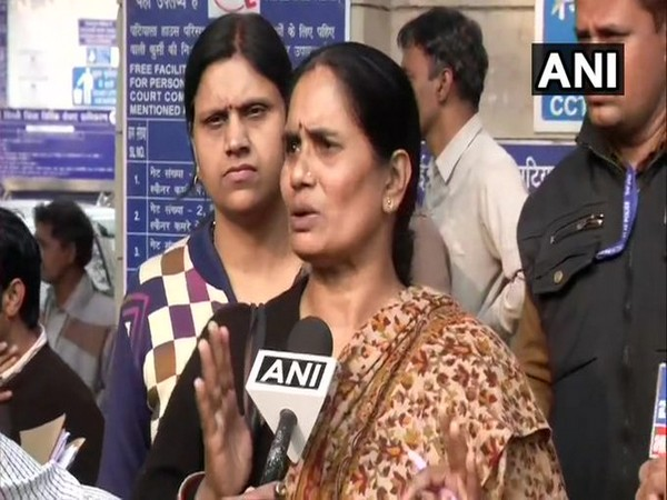 Nirbhaya's mother Asha Devi speaking to ANI on Friday in New Delhi. Photo/ANI