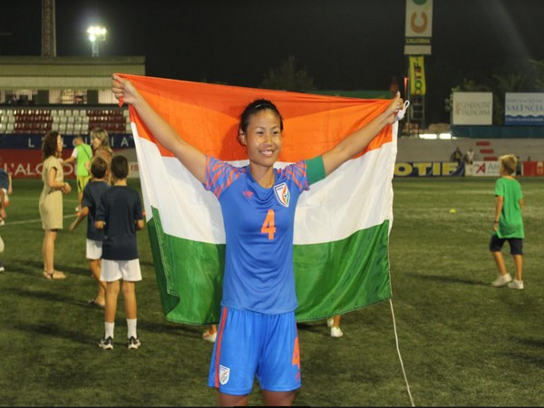 India women's football team captain Ashalata Devi (Photo/ AIFF)