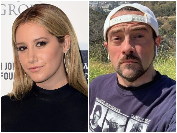 Ashley Tisdale and Kevin Smith, image courtesy, Instagram