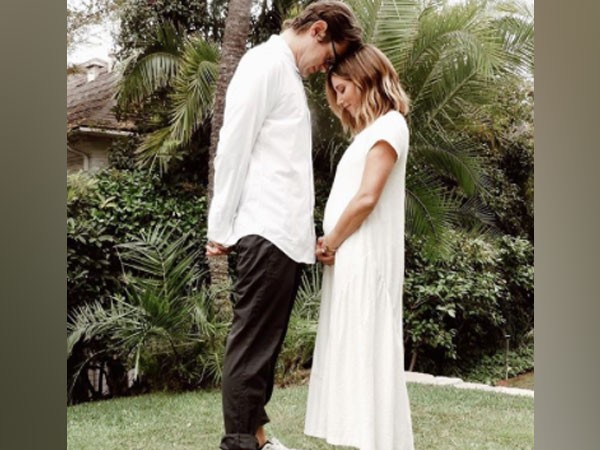 Actor Ashley Tisdale with husband Christopher French (Image Source: Instagram)