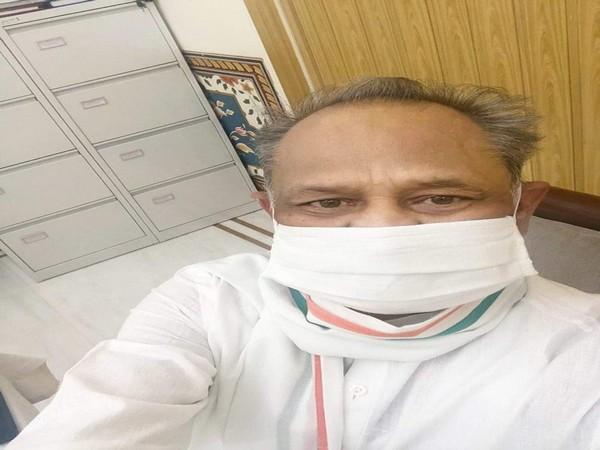 Rajasthan Chief Minister Ashok Gehlot. Photo/Twitter