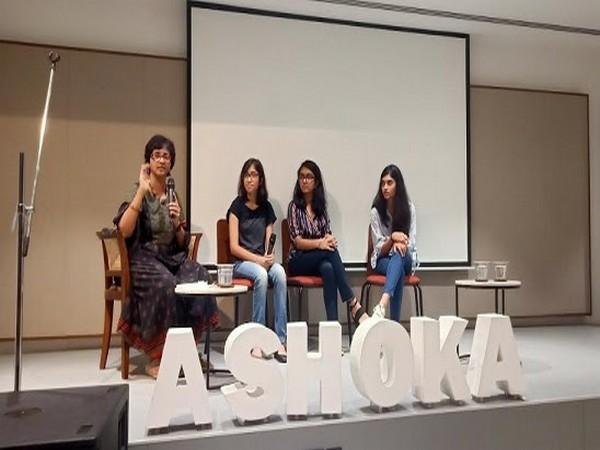 Shanti Raghavan in conversation with 3 Ashoka Young Changemakers