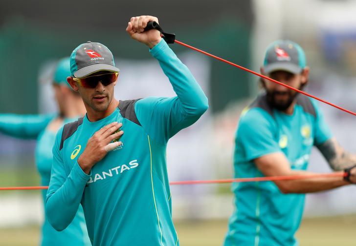 Australian spin bowler Ashton Agar
