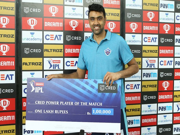 Delhi Capitals spinner Ravichandran Ashwin (Photo/IPL Twitter)