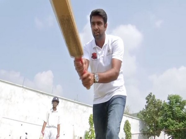 Indian cricketer Ravichandran Ashwin