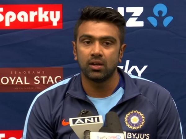 Indian cricketer Ravichandran Ashwin