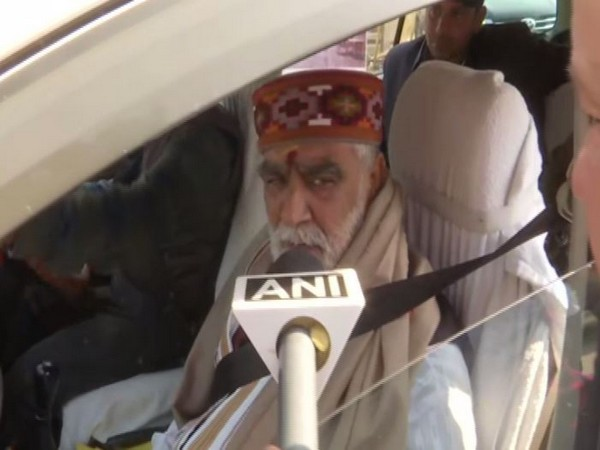 Union Minister of State for Health and Family Welfare Ashwini Kumar Choubey speaking to ANI in Patna on Sunday. Photo/ANI