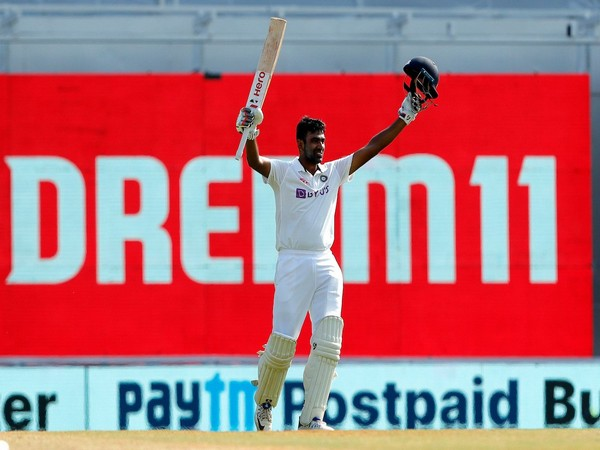 Off-spinner Ravichandran Ashwin in action against England (Photo/ BCCI Twitter)