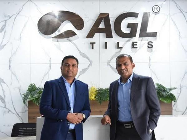 Kamlesh Patel, CMD and Mukesh Patel, MD, Asian Granito India Ltd.