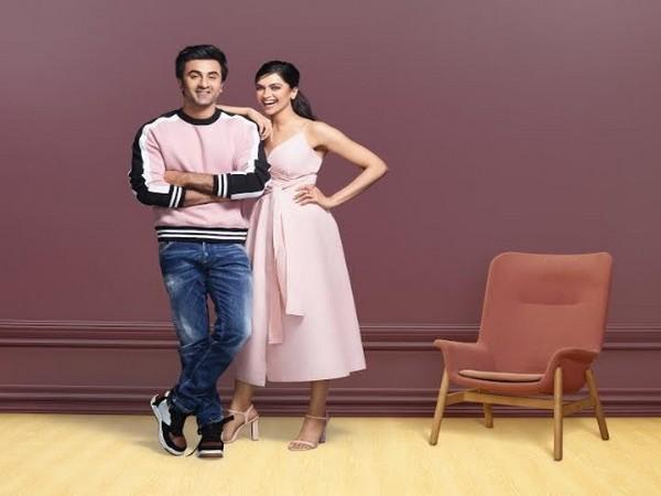 Ranbir Kapoor and Deepika Padukone in Asian Paints TVC 2