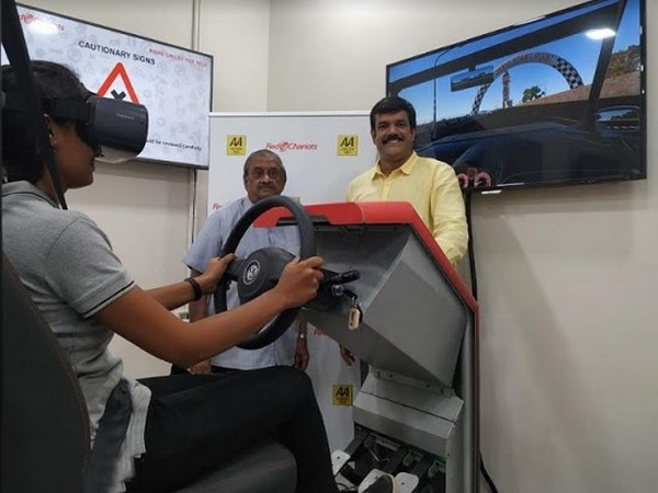 Asia's only 5th Generation - VR based simulator centre