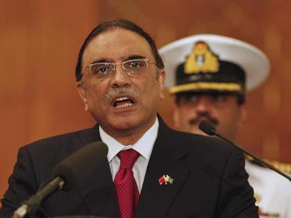 Former Pakistan President Asif Ali Zardari (File photo)