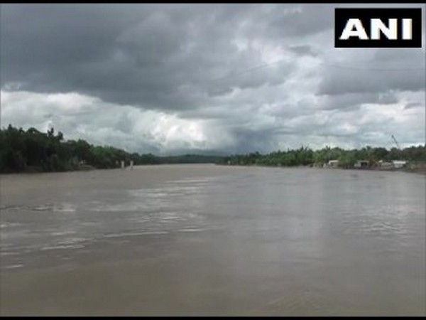 Visual from the Barak river in Cachar district, Assam. Photo/ANI